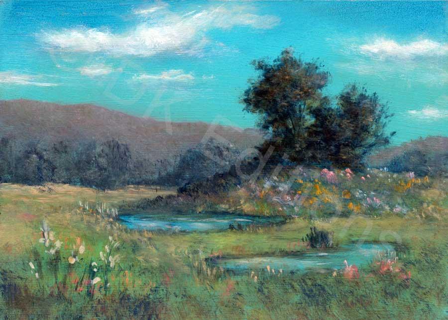 Patti Ferrara, <em>Secret Meadow</em> <br/>Edition of 500