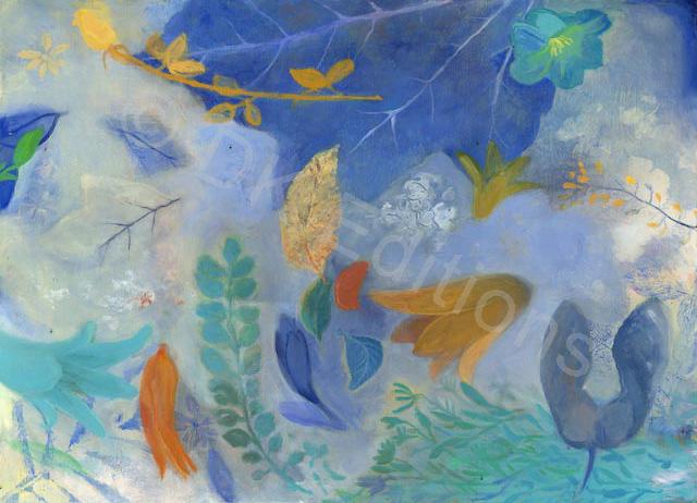 Carol March, <em>Blue</em> <br/>Edition of 500