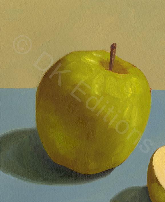 Karen Kemp, <em>Green Apples</em> <br/>Edition of 500