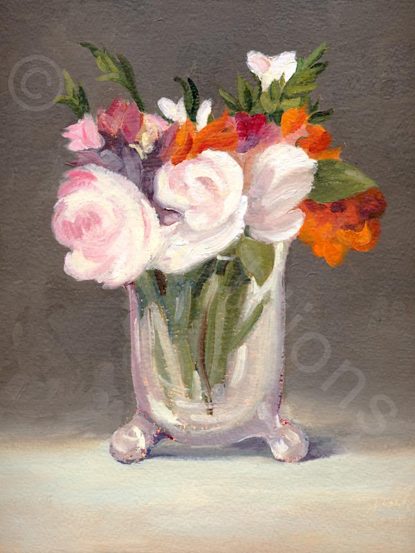 Karen Kemp, <em>Manet Flowers</em> <br/>Edition of 500