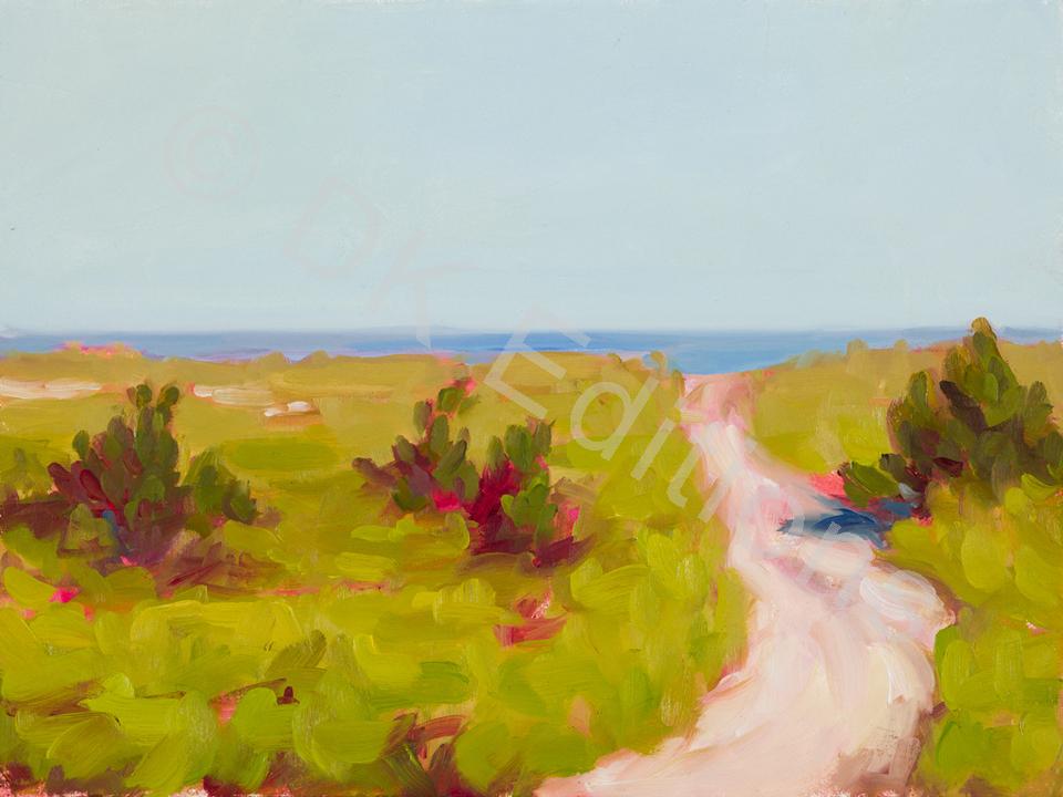 Karen Kemp, <em>Path to the Beach</em> <br/>Edition of 500