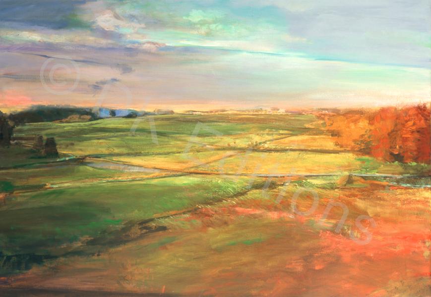 Kristin Schiele, <em>East Coast Farmland</em> <br/>Edition of 500