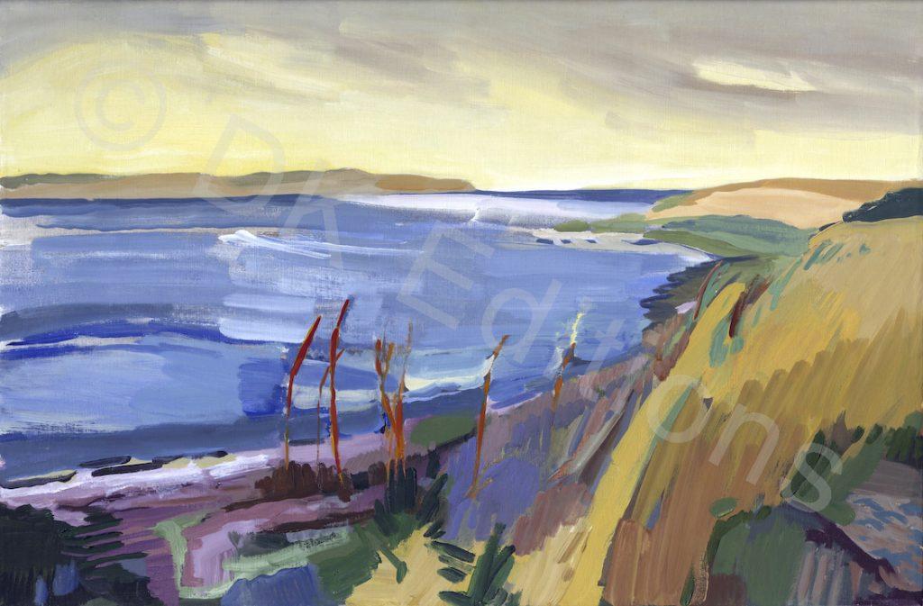 Kamilla Talbot, <em>Cove and Reeds</em> <br/>Edition of 500
