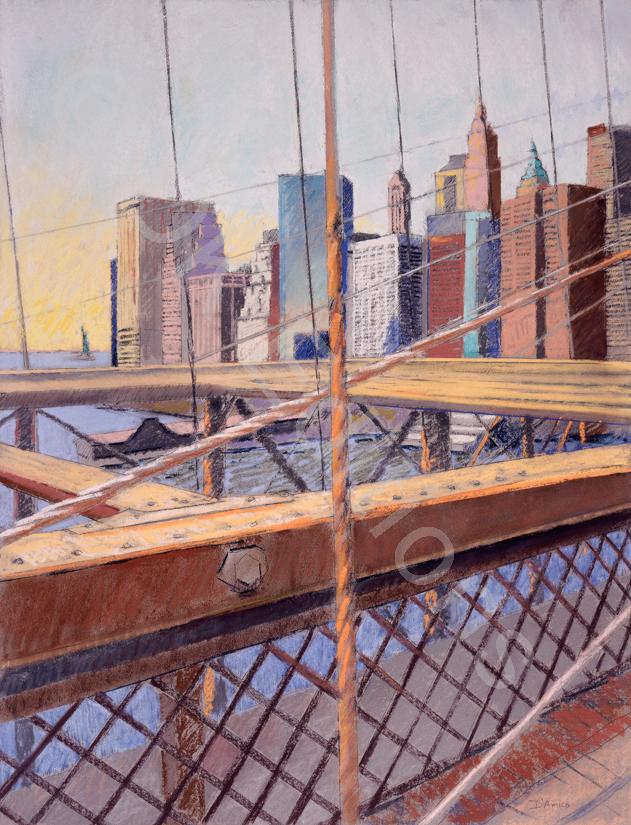 Larry D'Amico, <em>Brooklyn Bridge 1</em> <br/>Edition of 500